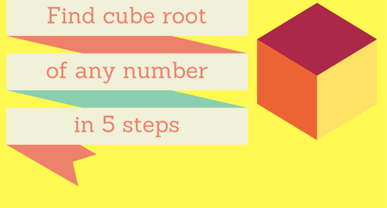 find cube root of any number in 5 seconds in your mind